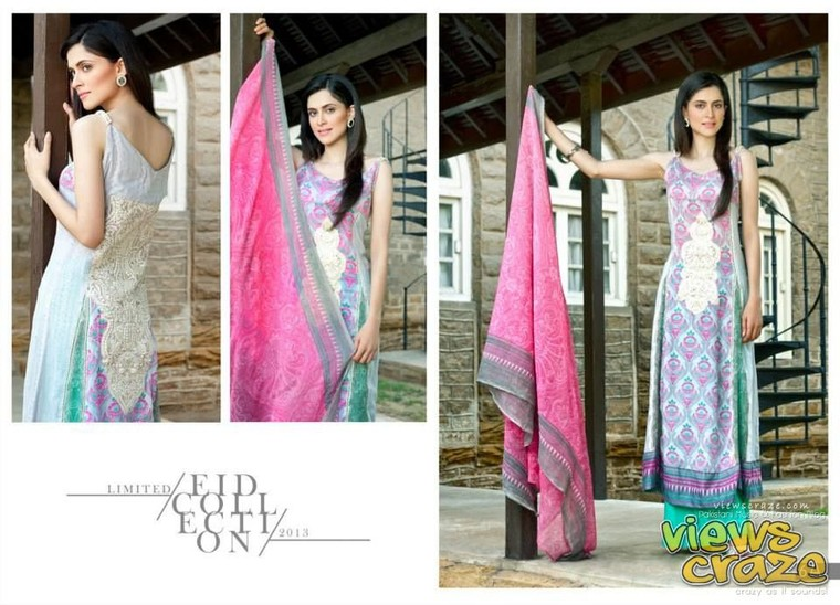 Pakistani Fashion Style: Post 1,, Hannah Limited Edition Eid Collection 2013 by ZS Textiles