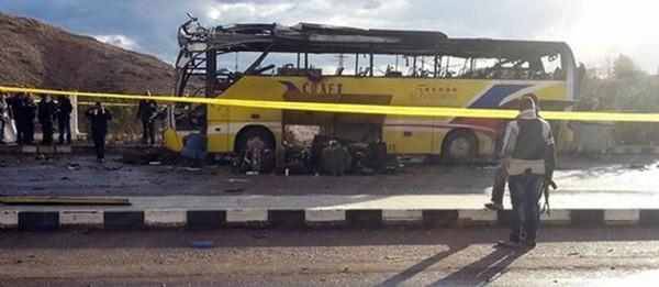 Égypte : attentat meurtrier contre un bus de touristes