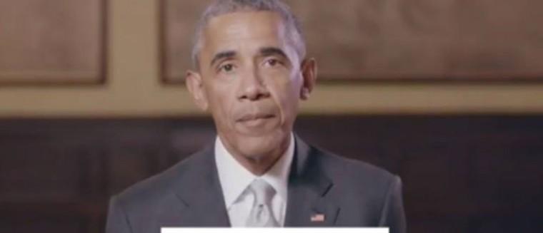 Découvrez le message de soutien incroyable de Barack Obama à... Emmanuel Macron (VIDEO)