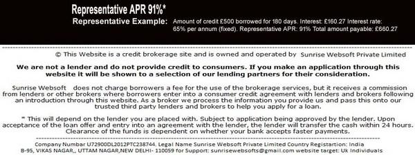 100 Pound Loan Bad Credit UK | £100 Cash Loan Direct Lender
