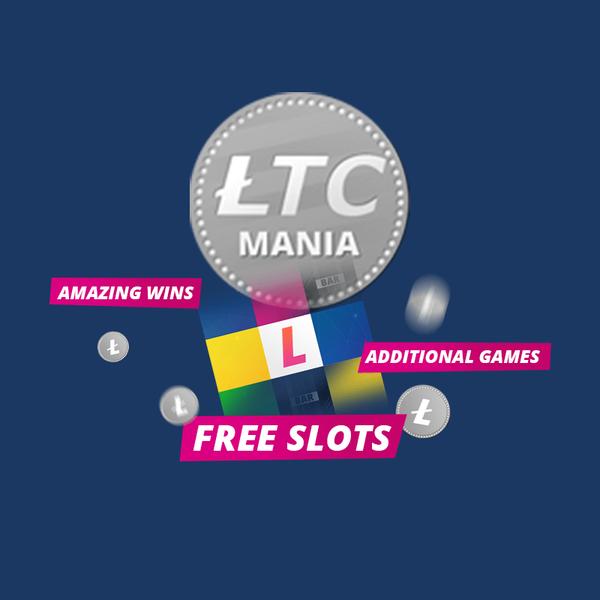 LTC Mania - Free Litecoin Slots