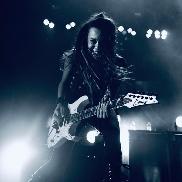 "Evanescence on Instagram: ""Happy birthday to our girl, @jen_majura ! We ❤️ you! ⚡️落濾⚡️"""