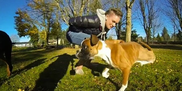 IF THIS TWO-LEGGED DOG DOESN'T INSPIRE YOU, NOTHING WILL (VIDEO) ~ CFW facts