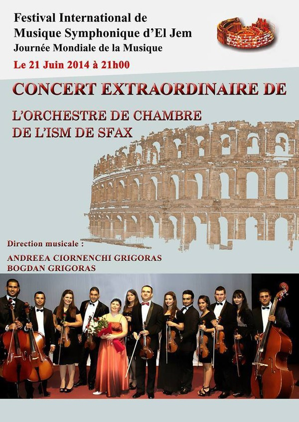 Festival International de Musique Symphonique d'El Jem - Last night in Orient