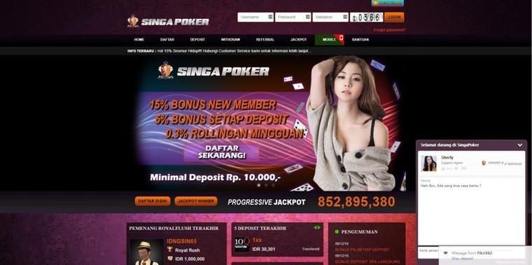 Situs Alternatif Judi Capsa Susun Online SINGAPOKER