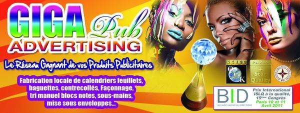 Affiche publicitaire, carte de visite, signalétique | Giga Publicité