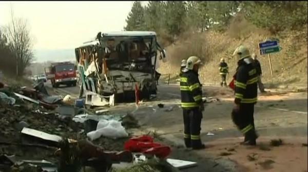 Accident d'un car de Français en République Tchèque