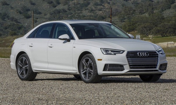 First A4 from the long-awaited Audi quartet gets revealed