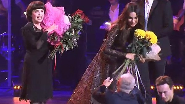 Зара поразила зрителей на концерте в Кремле