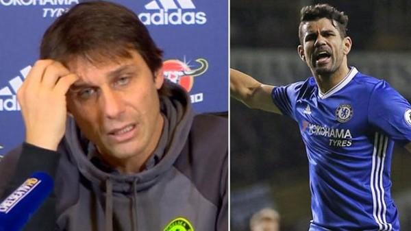 Perseteruan Antonio Conte dengan Diego Costa