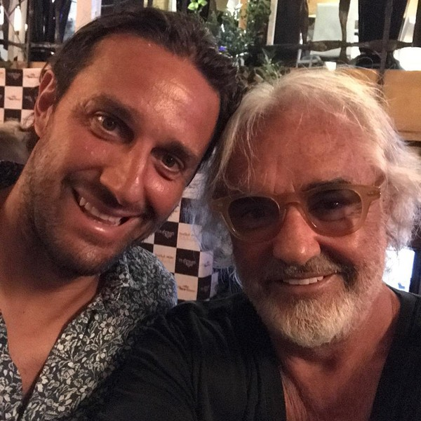 Instagram post by Flavio Briatore • Aug 6, 2017 at 11:42am UTC