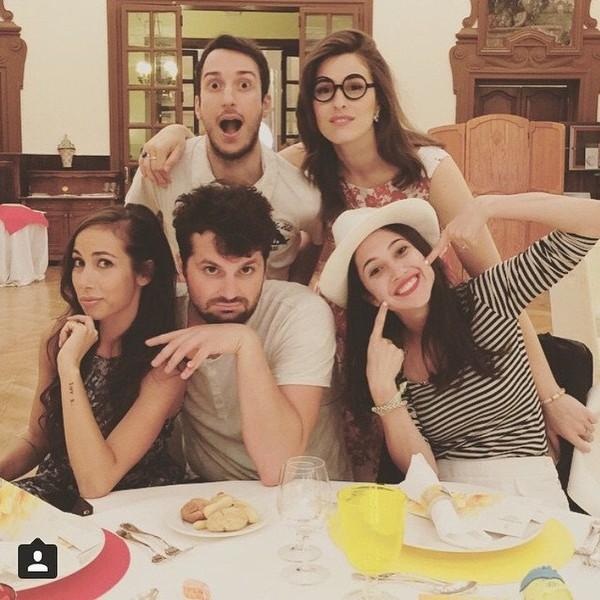 "Lodovica Comello on Instagram: ""Troppe emozioni stasera!! @ilvostrocarodexter 😨 @frankmatano 😡@dianadelbufalo😭 @tessmasazza 😏 ✌🏼️ #InsideOut #EMOZIONIcercasi #Gioia…"""