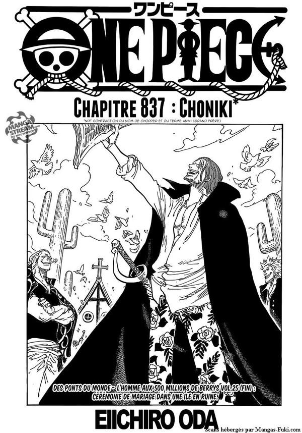 One Piece :: Chapitre 838 :: Mangas-Fuki