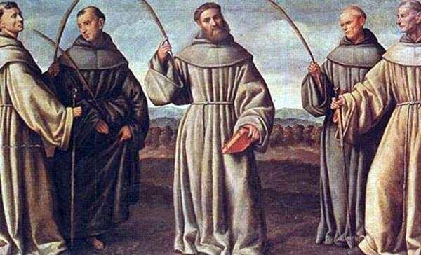Saint Berard and Companions