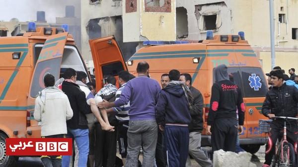 مقتل مفتش الأمن العام بمدينة العريش المصرية في انفجار عبوة ناسفة - BBC Arabic