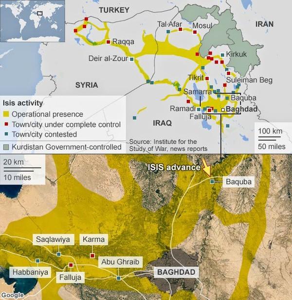 Irak : Bagdad Bientôt Encerclée Par l'EIIL? | ZEBUZZEO