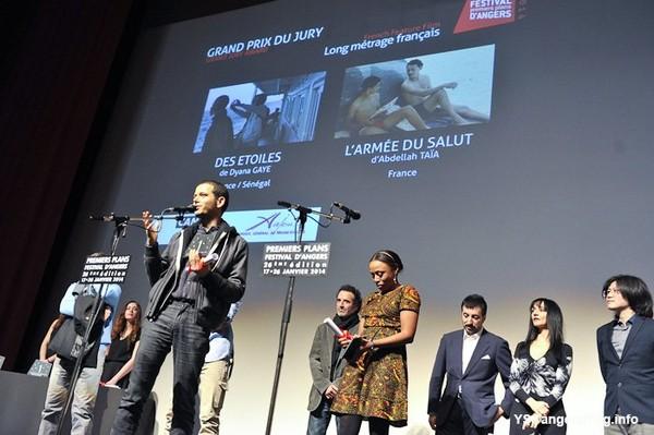 Premiers Plans : « Des étoiles » et « l'armée du salut », remportent le prix du long métrage français