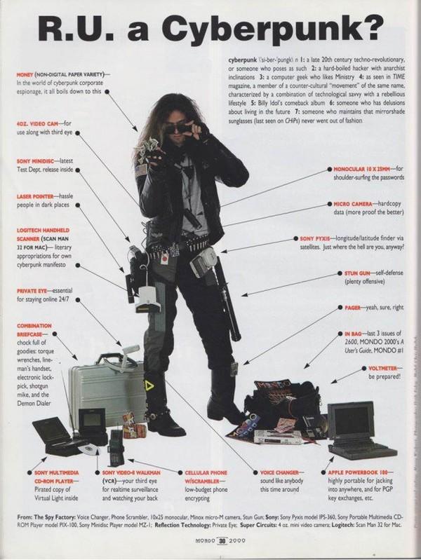 Êtes vous un Cyberpunk ? – Le meilleur de la technologie vu en 1990 | Ufunk.net