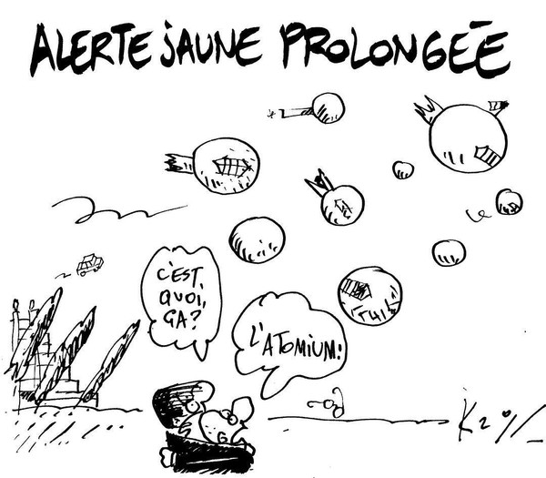 "Pierre Kroll on Instagram: ""#alertejaune #vent #meteo"""