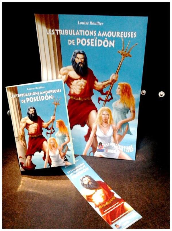 [Interview] Louise Roullier « Les Tribulations amoureuses de Poseïdôn » | Histoires de Romans