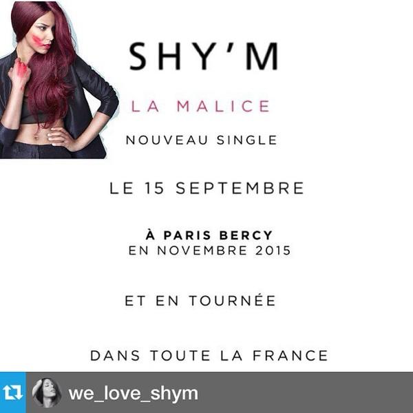 Shy'm Daily Journal @shymdj | Websta
