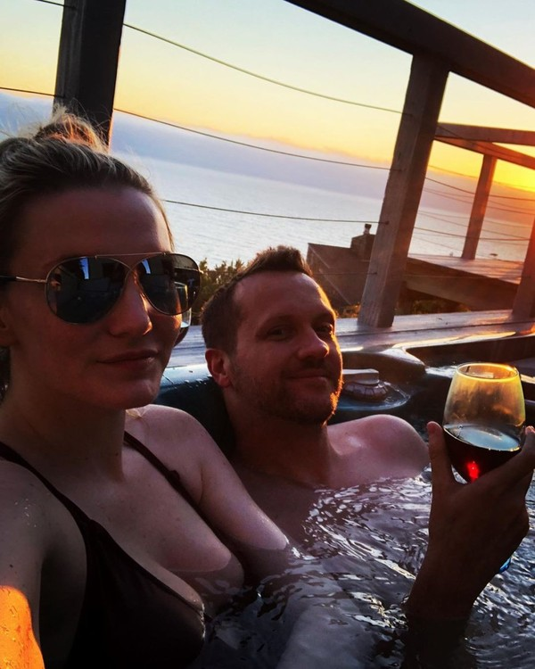"Dani McCord💋🙃 on Instagram: ""Sun setting on day 1 of Tim's 40th birthday weekend celebration. I try to celebrate this mofo every day of the year. Every crazy, wonderful…"""