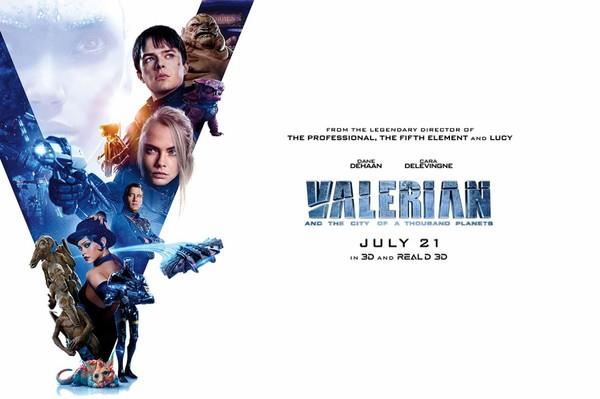 Valerian and the City of a Thousand Planets (VO 2017) // Valerian et la Cité des Mille Planètes (VF 2017) - le site officiel de bernard vereecke