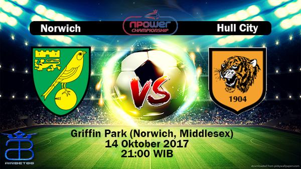 Prediksi Norwich VS Hull City 14 Oktober 2017   Prediksiskorbolajitu  