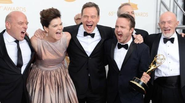 """""""Breaking Bad"""" sacré meilleure série aux Emmy Awards"""