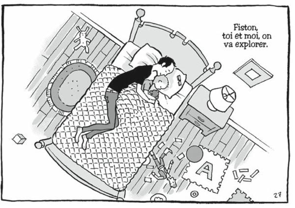 """Autisme : """"les petites victoires"""" d'un père et de son fils racontées en bande dessinée"""