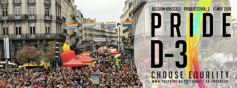 Brussels : choose equality with the Belgian Pride 2014 - Last night in Orient