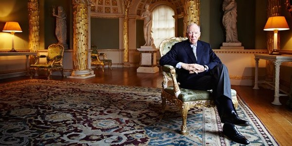 "Lord Jacob Rothschild: The Financial World Order Now ""Threatened"" – Anonymous"