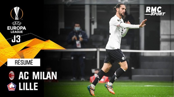 Résumé : AC Milan 0-3 Lille - Ligue Europa J3