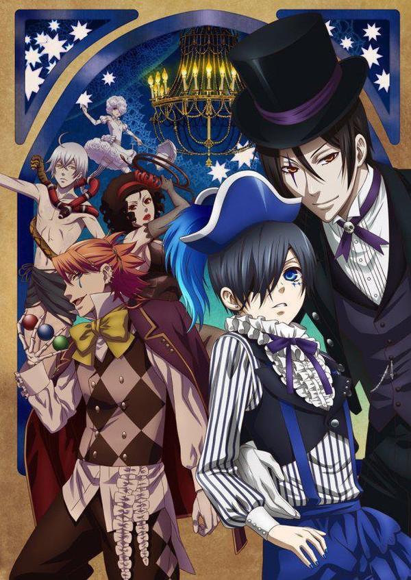 Black Butler (Kuroshitsuji) Book of Circus – Saison 3 | film ...