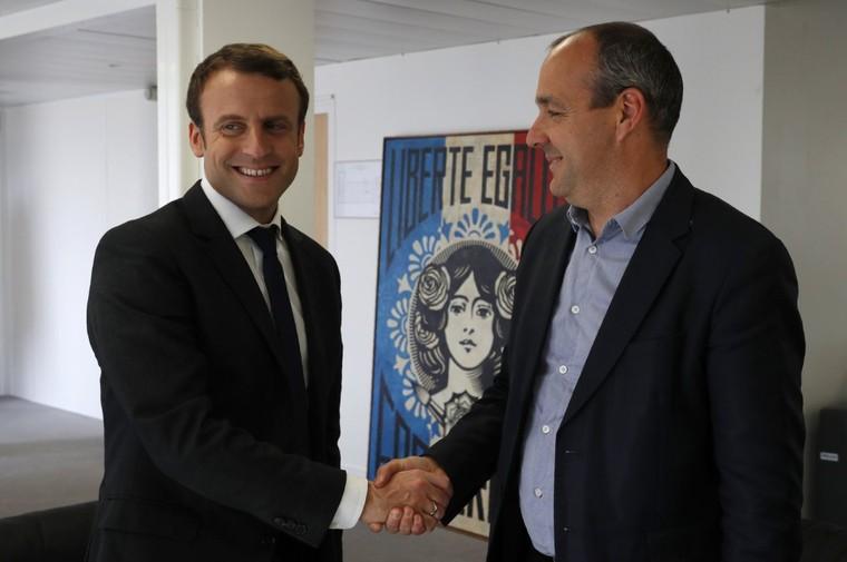 Le siège parisien de la CFDT a été «vandalisé» après son appel à voter Macron (PHOTO)