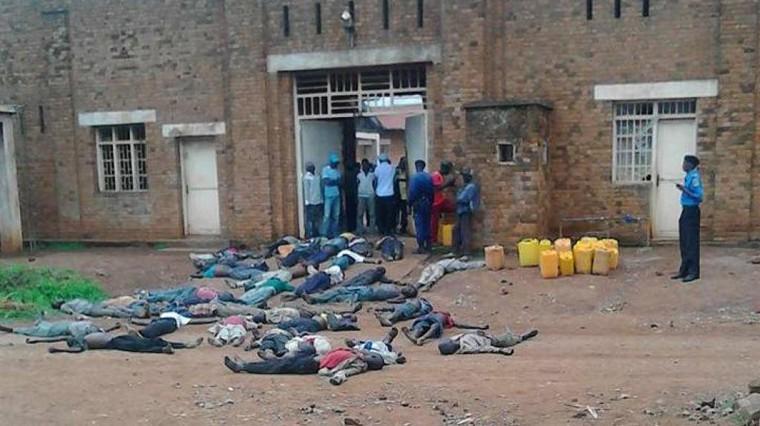 Une prison congolaise expose en pleine rue ses détenus mourant de faim