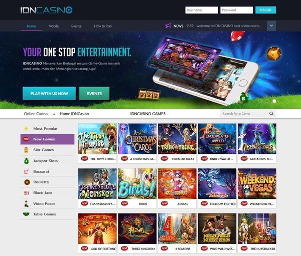 IDNCASINO Mini Games Untuk Smartphone iOS Android Terbaru