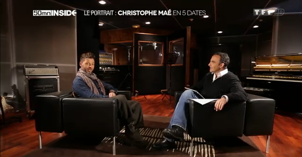 50 mn inside - Le portrait : Christophe Maé en cinq dates