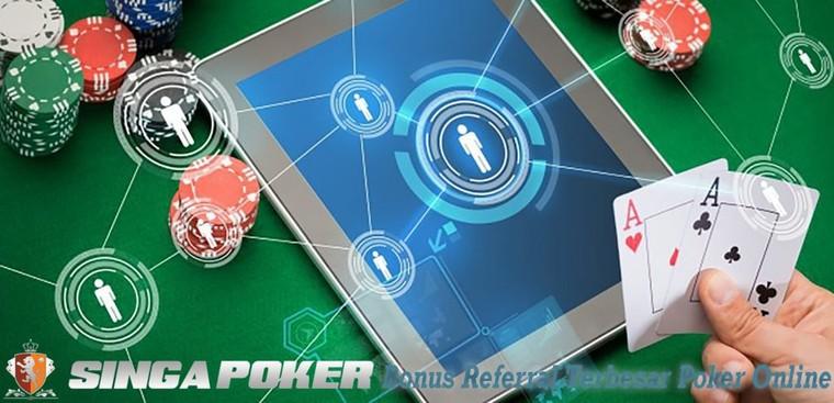 Bonus Referral Terbesar Poker Online