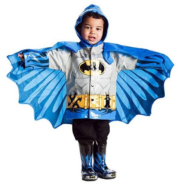 Kids Superhero Raincoats – Des cirés super héros pour les enfants justiciers | Ufunk.net