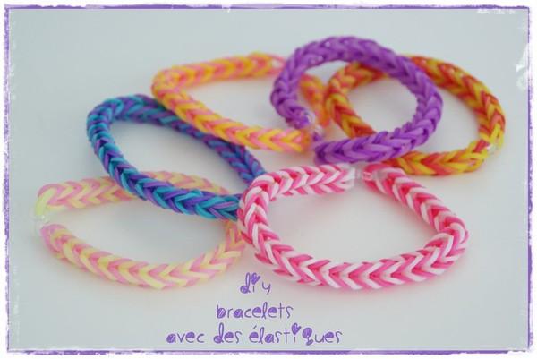 DIY : faire des bracelets avec des élastiques *** VIDEO INSIDE !!! *** - Les p'tites décos de Lolo