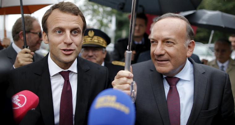 Plusieurs grands patrons soumettent à Emmanuel Macron un «pacte européen»