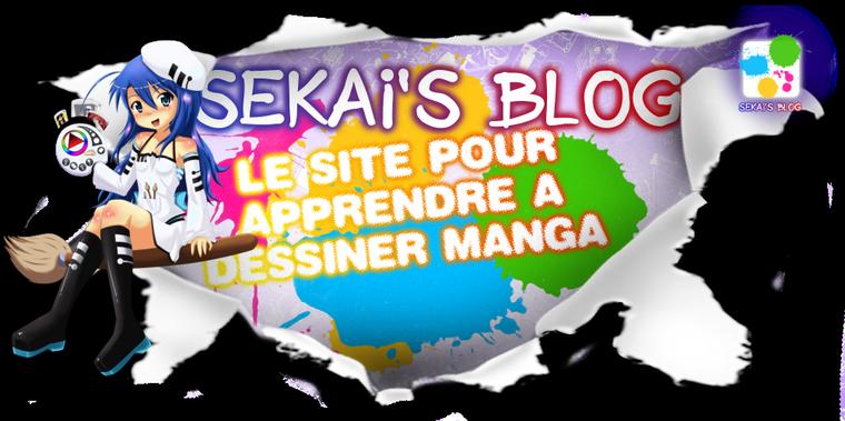 Sekai's Blog: Apprendre à dessiner Manga