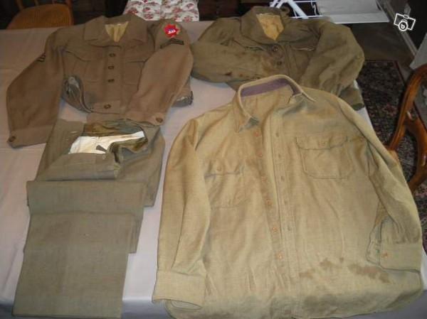 Lot de vetement US WW2 Tenue IKE Collection Meurthe-et-Moselle - leboncoin.fr
