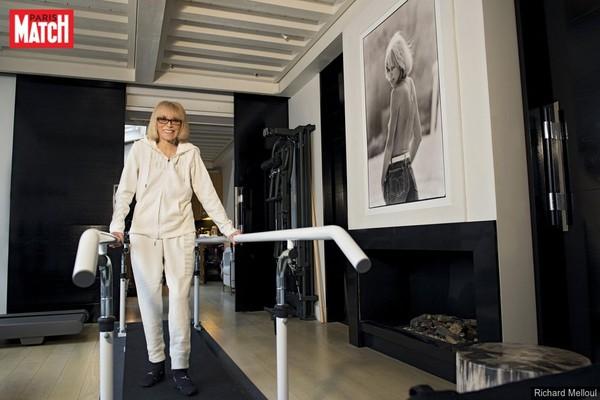 Mireille Darc : sa dernière interview à Paris Match