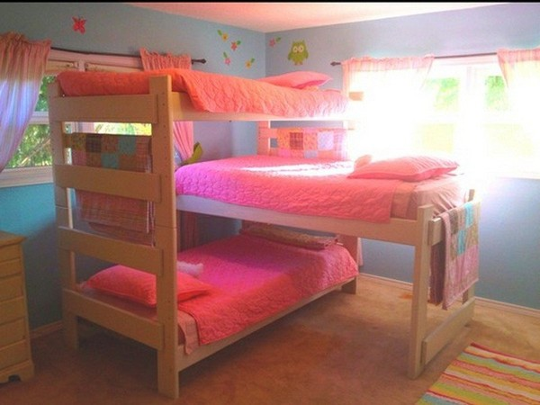 Triple Bunk Beds for Dormitory | HomeDecorIn.com