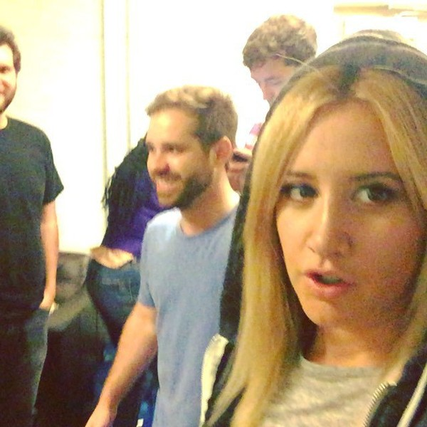 "Ashley Tisdale on Instagram: ""The cast of @clippedtbs about to do our first improv show at UCB. Aaaaaahhhh!"""