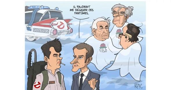 La leçon de DSK à Macron