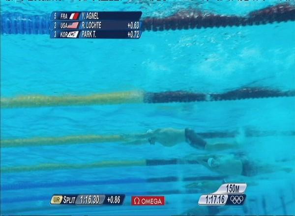 Yannick Agnel champion olympique du 200 m