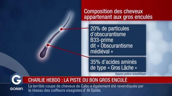 "Attaque contre #CharlieHebdo : la piste du ""bon gros enculé"""